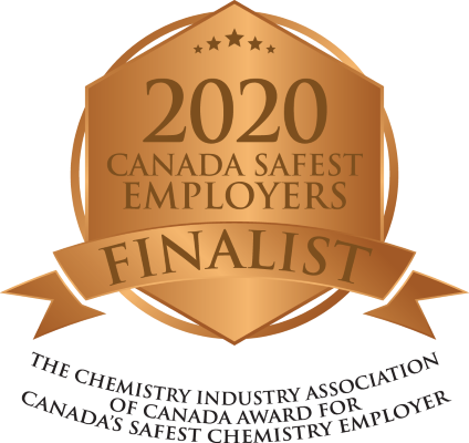 Badge of 2020 Canada Safest Employers Finalist