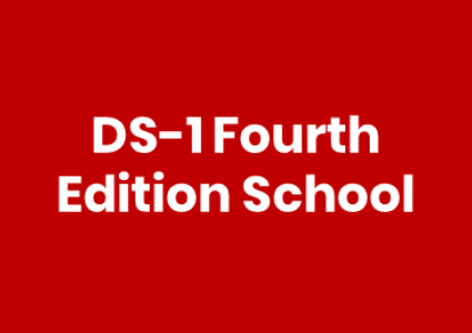 DS-1 Fourth Edition School