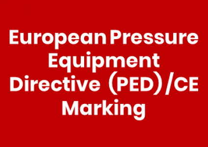 European Pressure Equipment Directive (PED)/CE Marking