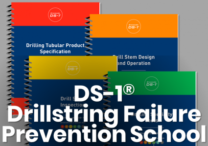 DS-1 booklet covers. Drillstring Failure Prevention School